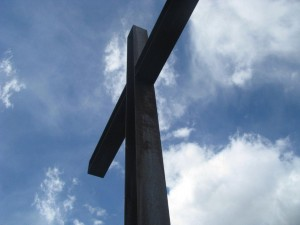 cross at living water